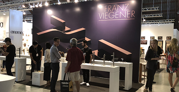 Franz Viegener Introduces New Architectural Line of Faucets at WestEdge Design Fair 2018