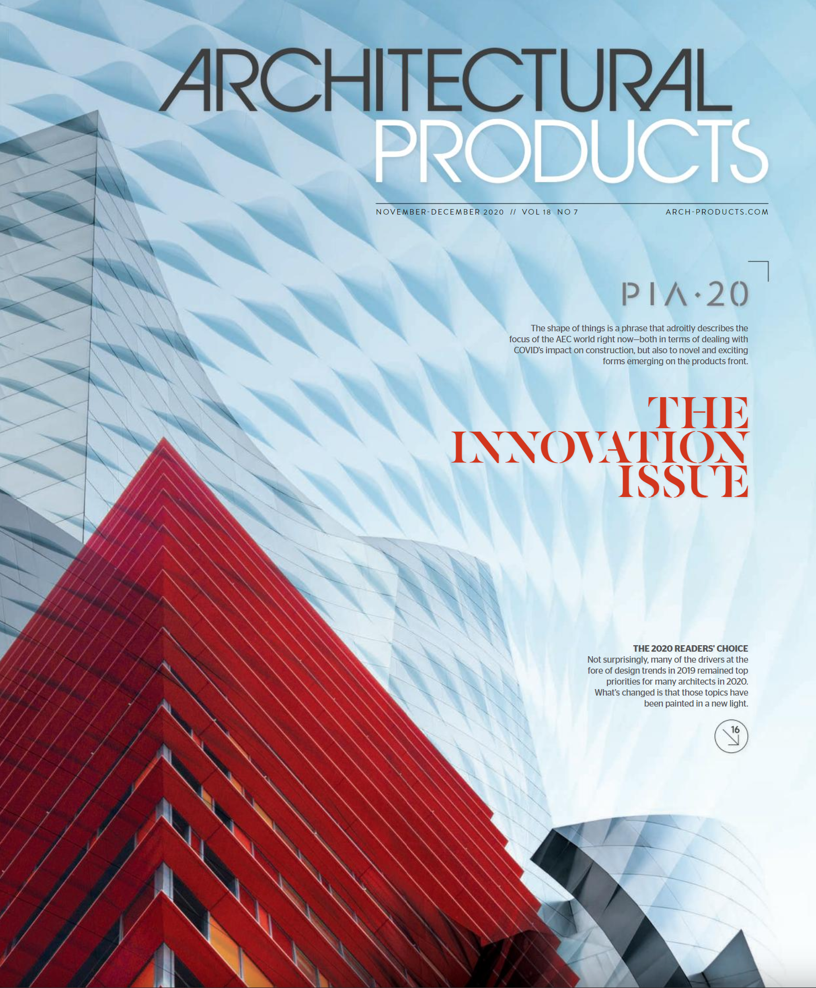Architectural Products – November/December issue