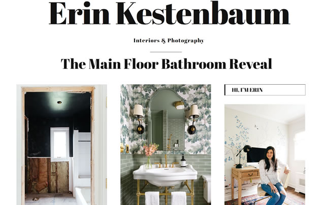 Erin Kestenbaum's Bathroom Transformation